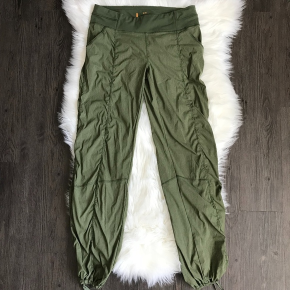 c13efbdc658e2 Lucy Pants - Lucy Get Going Pant Green Striped Size Medium